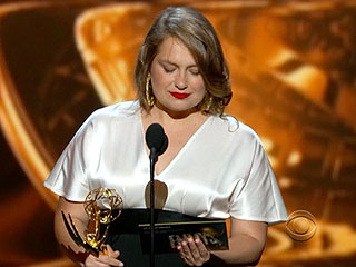 Too Scared to Speak? More on Merritt Wever's Brief Speech and Whom She Wants to Thank