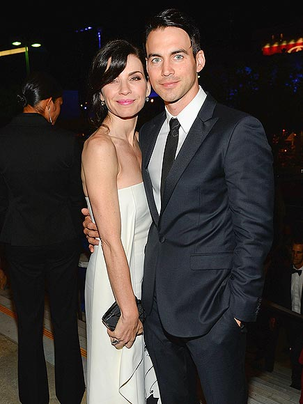 Julianna Margulies Husband Emmy Awards 2013 After...