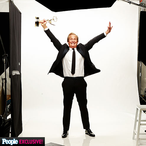 Inside PEOPLE's 2013 Emmys Photo Booth| Primetime Emmy Awards 2013, 30 Rock, Boardwalk Empire, Nurse Jackie, The Big Bang Theory, The Newsroom, Veep, Bobby Cannavale, Jeff Daniels, Jim Parsons, Julia Louis-Dreyfus, Merritt Weaver, Tina Fey, Tony Hale