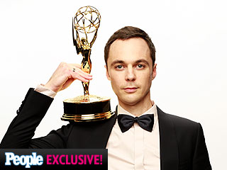 Inside the Winners' Photo Booth with Tina Fey, Jim Parsons and More | Jim Parsons