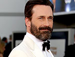 And the Award for Most Alarming Facial Hair Goes to ... Jon Hamm!