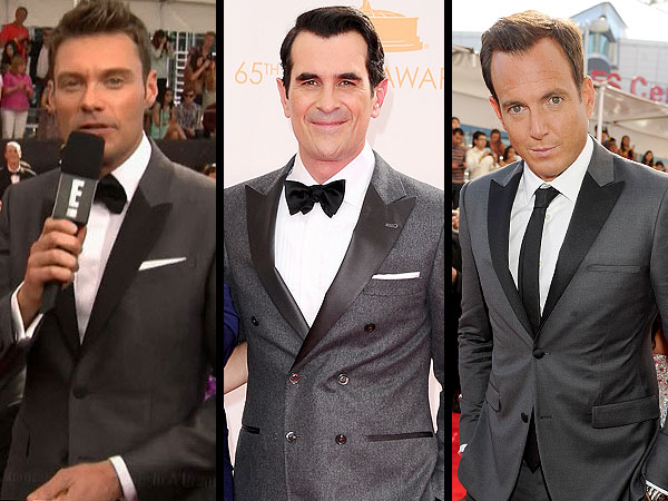 Burberry tuxes Emmys 2013