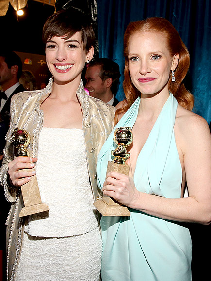 GOOD AS GOLD photo | Anne Hathaway, Jessica Chastain
