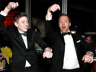 Globes Stars Party On Down | Damian Lewis
