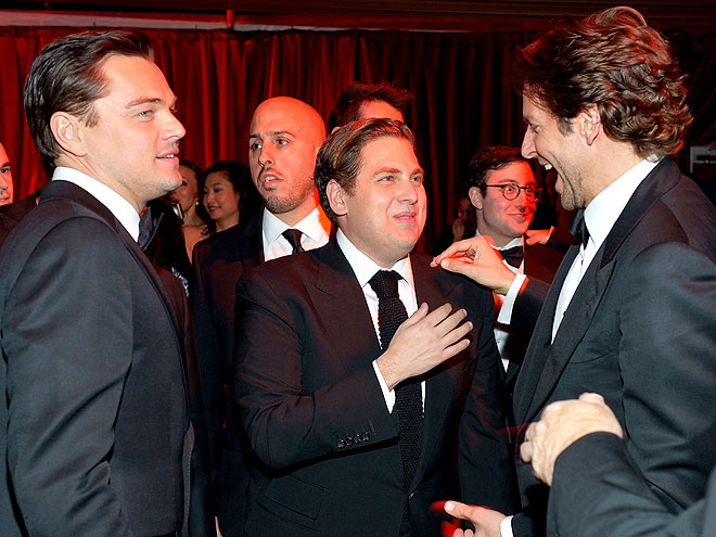 WISE GUYS photo | Bradley Cooper, Jonah Hill, Leonardo DiCaprio