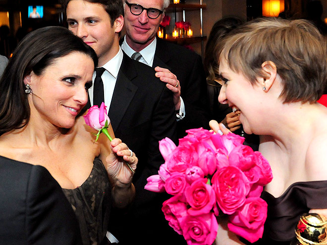 ROSE TO THE OCCASION photo | Julia Louis-Dreyfus, Lena Dunham
