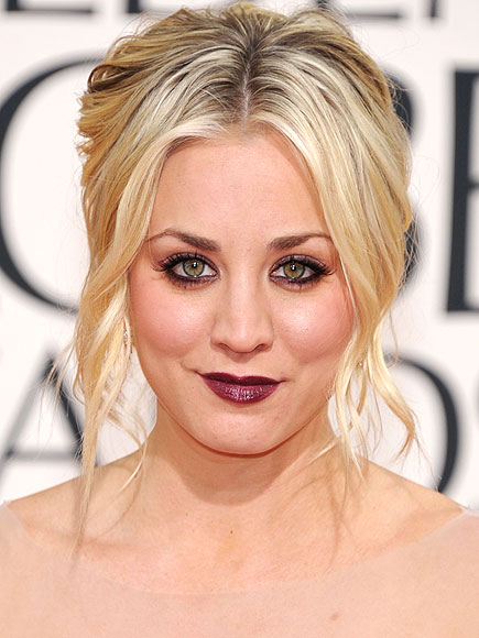 BOLDEST LIP COLOR photo | Kaley Cuoco