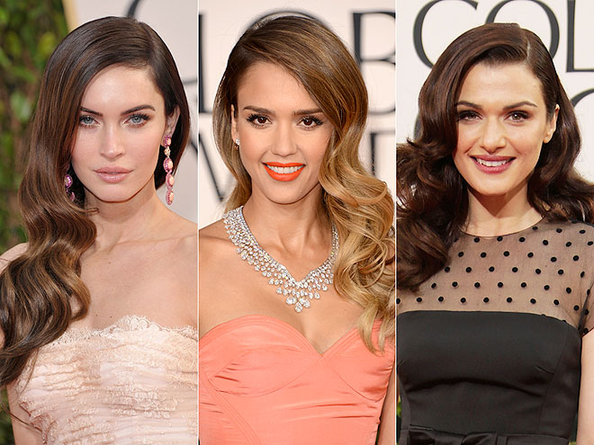 PRETTIEST WAVES photo | Jessica Alba, Megan Fox, Rachel Weisz