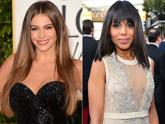 BEST BLOWOUTS photo | Kerry Washington, Sofia Vergara