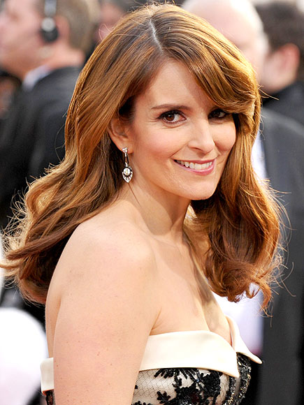 GLOSSIEST HAIR  photo | Tina Fey