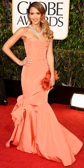 JESSICA ALBA AT THE GOLDEN GLOBES photo | Jessica Alba