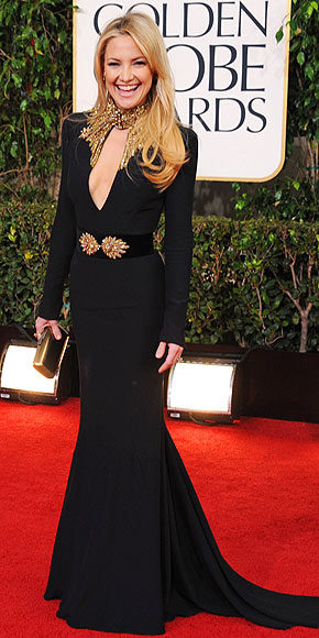 KATE HUDSON AT THE GOLDEN GLOBES photo | Kate Hudson