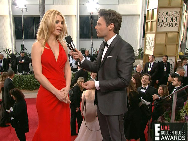 photo | Claire Danes, Ryan Seacrest