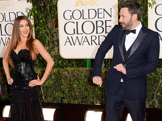 Globes Stars Turn Up the Fun | Ben Affleck, Sofia Vergara