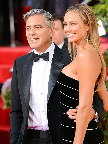 GEORGE & STACY photo | George Clooney