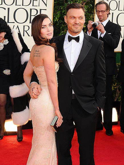 MEGAN & BRIAN  photo | Brian Austin Green, Megan Fox