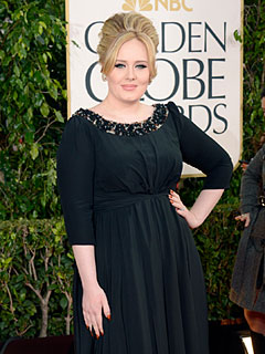 Golden Globes: Adele: Sharing My Son's Name Is Too Personal