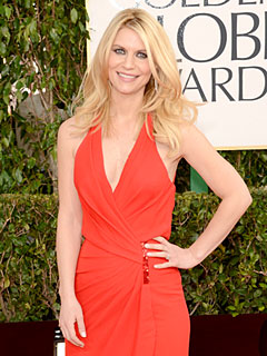 Golden Globes: Claire Danes Busy In Baby World