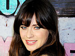 Zooey Deschanel Nails It with Another Cute Red Carpet Manicure