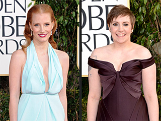 The 12 Biggest Fashion Risk-Takers at the Globes | Jessica Chastain