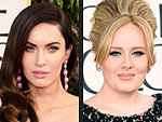 Hot New Moms Adele, Megan Fox & More Stun on the Globes Red Carpet | Claire Danes, Megan Fox, Sienna Miller