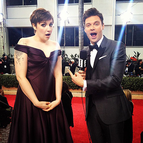 LENA & RYAN photo | Ryan Seacrest