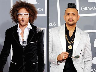 The Best 'Mancessories'of the Grammys | LMFAO