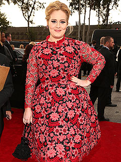 Adele Best Pop Performance Grammy Awards 2013