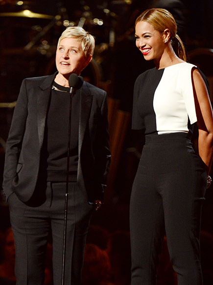  photo | Beyonce Knowles, Ellen DeGeneres