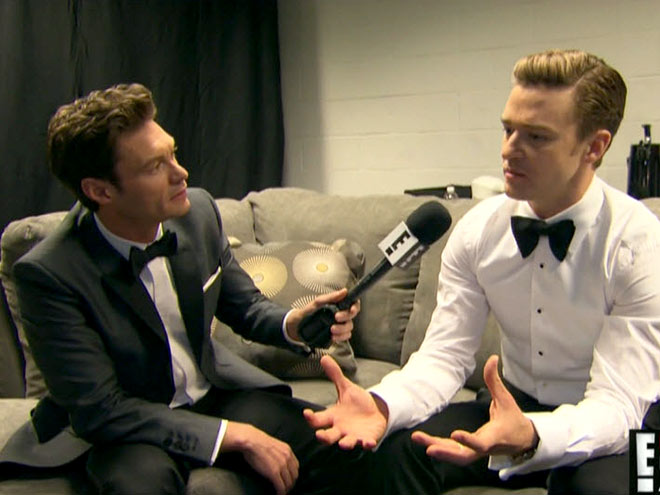 photo | Justin Timberlake, Ryan Seacrest