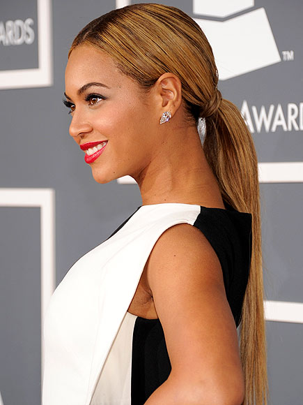 BEYONCÉ'S PONYTAIL photo | Beyonce Knowles
