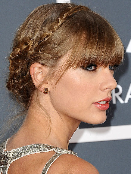 TAYLOR'S BRAIDED UPDO photo | Taylor Swift