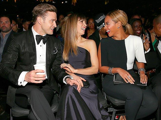 MEGAWATT SMILES photo | Beyonce Knowles, Jessica Biel, Justin Timberlake