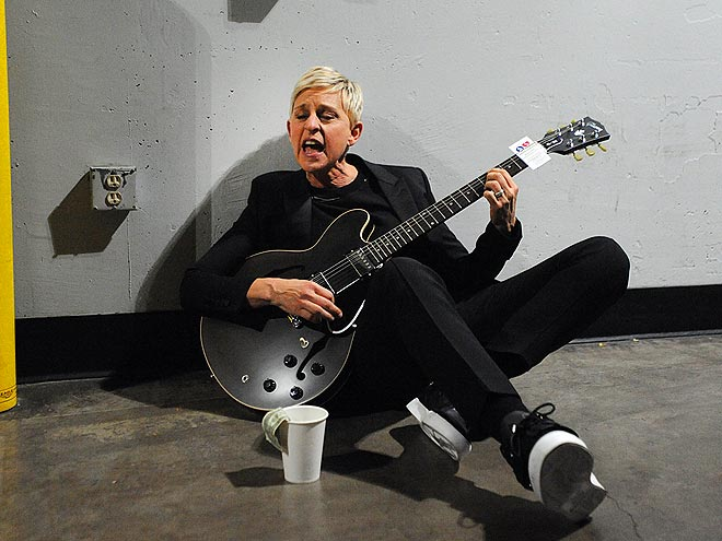 STRUMMED OUT photo | Ellen DeGeneres