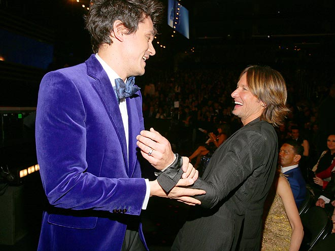 MAN HANDLING photo | John Mayer, Keith Urban