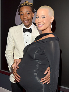 Wiz Khalifa and Amber Rose Welcome Son Sebastian Taylor