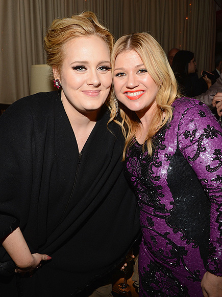 POP THE CORK! photo | Adele, Kelly Clarkson