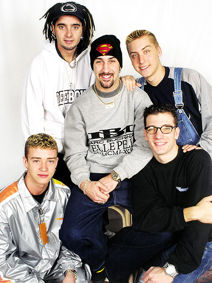 JUSTIN TIMBERLAKE: STAR SEARCH photo | Chris Kirkpatrick, JC Chasez, Joey Fatone, Justin Timberlake, Lance Bass