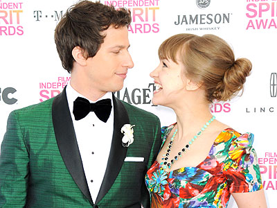 Pre-Oscars Fun at the Indie Spirit Awards | Andy Samberg