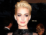 Anne Hathaway Goes Platinum Blonde – What Do You Think of Her Punk Look?