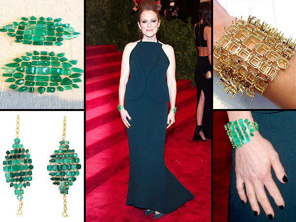 julianne moore 600x450 Confessions of a Celeb Stylist: Leslie Fremar Takes Us Behind the Scenes of Julianne Moore's Met Gala Fitting