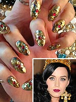 Kate Perry Met Gala nails