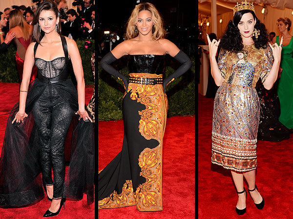 katy perry 600x450 Met Gala 2013: The 10 Most Daring Dresses (According to Us, Anyway)