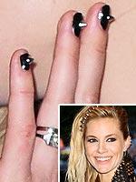 Sienna Miller Met Gala nails