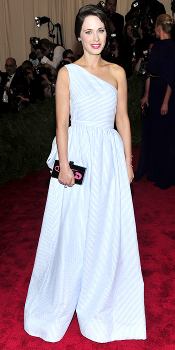 Zooey Deschanel Tommy Hilfiger Met Gala 2013 Gown