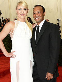 Tiger Woods & Lindsey Vonn Take Their Love to the Red Carpet