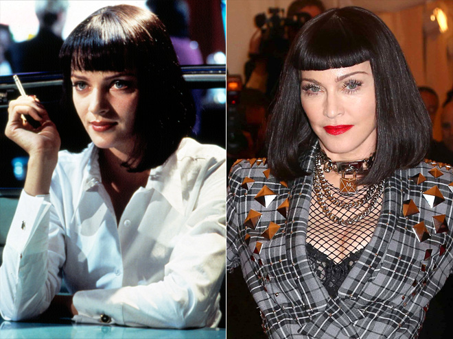 MIA WALLACE FROM PULP FICTION photo | Madonna