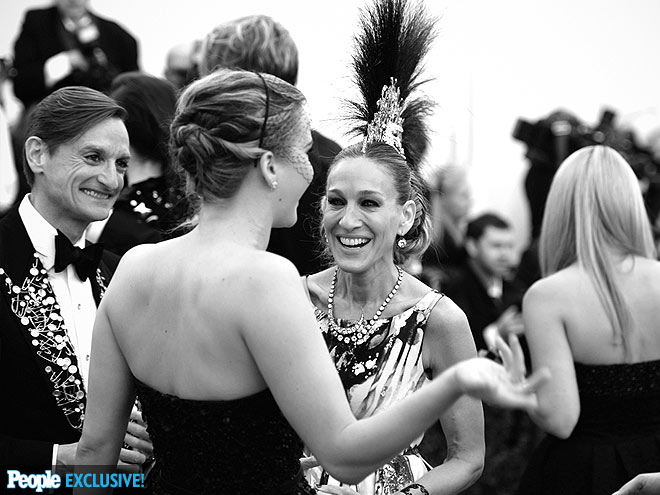 VIEW FROM THE TOP photo | Jennifer Lawrence, Sarah Jessica Parker