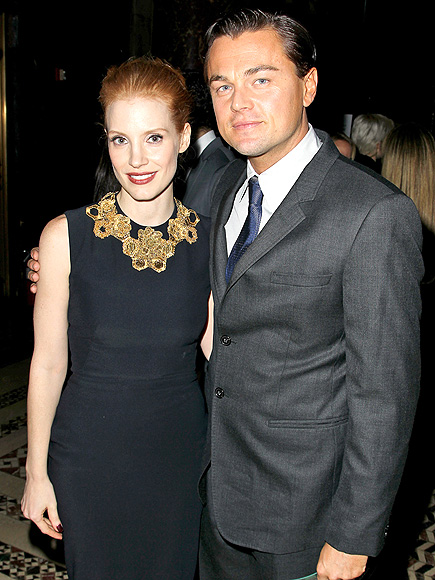 KEEP IN TOUCH photo | Jessica Chastain, Leonardo DiCaprio