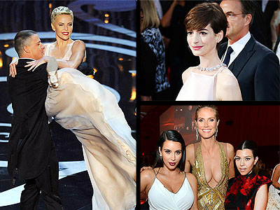 10 Things We Learned from the Oscars | Channing Tatum, Charlize Theron